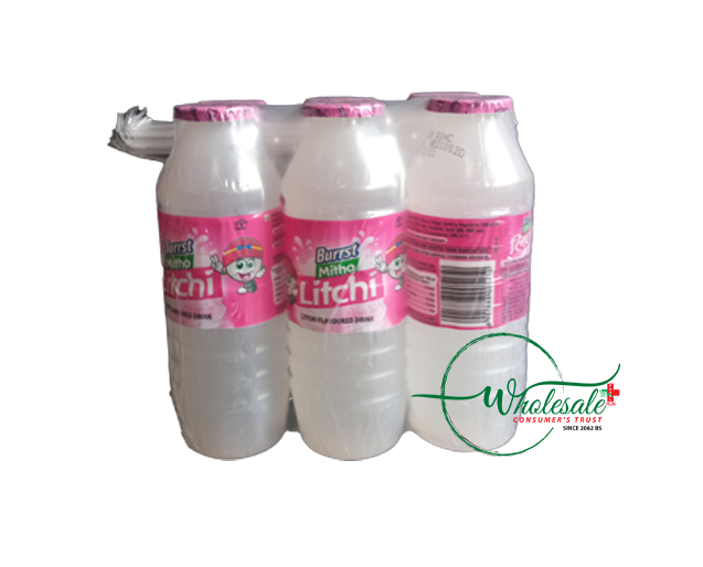 Burrst Litchi Juice 170ml*1*6