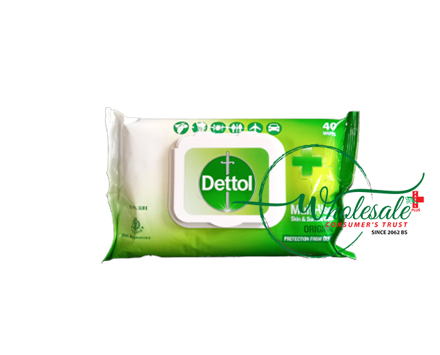 Dettol Multi-Use Wipes 40s