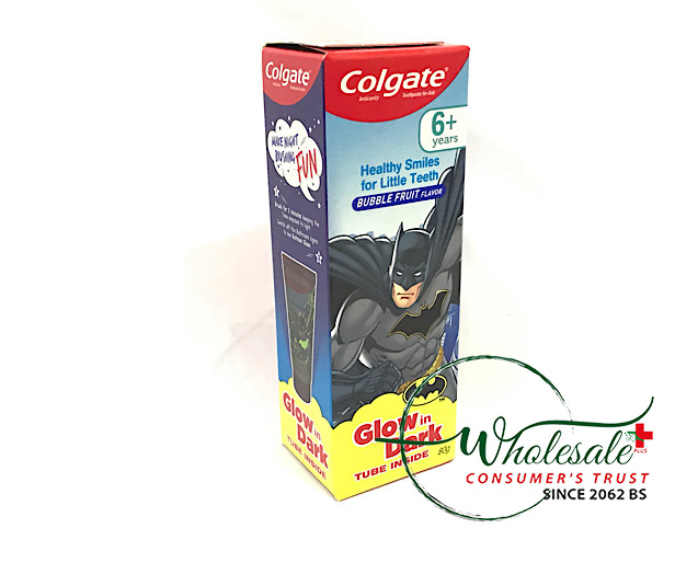 Colgate Kids 6+Paste (Glow Dark)80gm