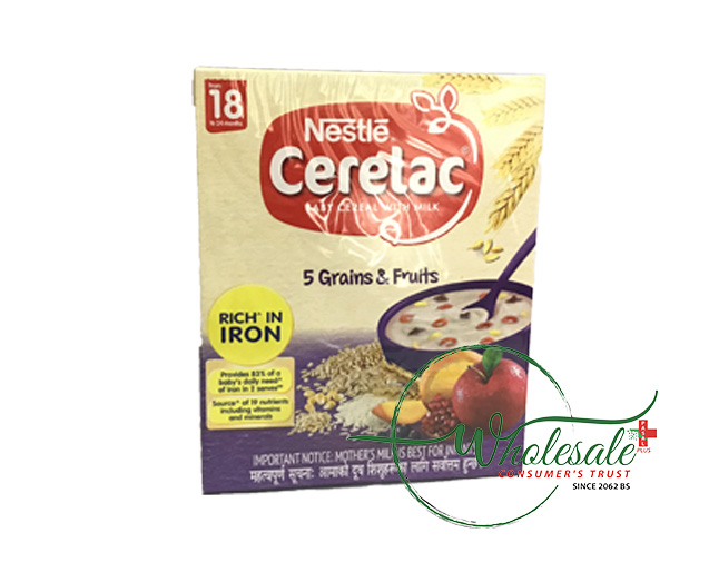 Nestle Cerelac 5 grains and fruits 18 month 300g