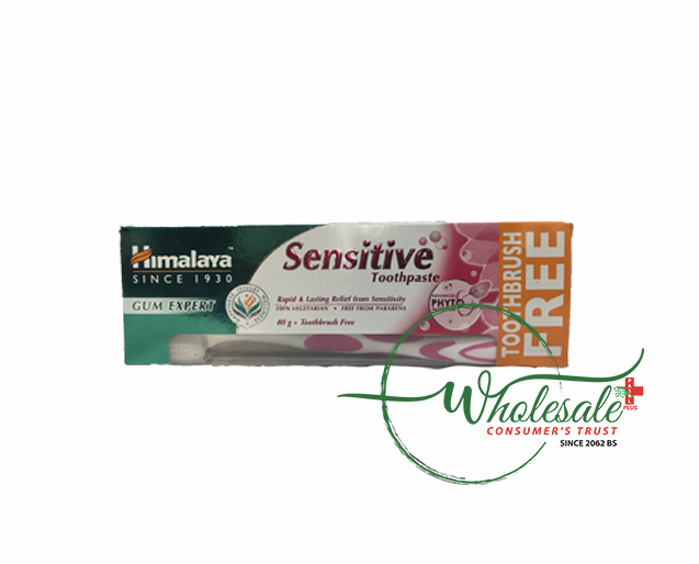 Himalaya Sensitive Toothpaste = Toothbrush 80g