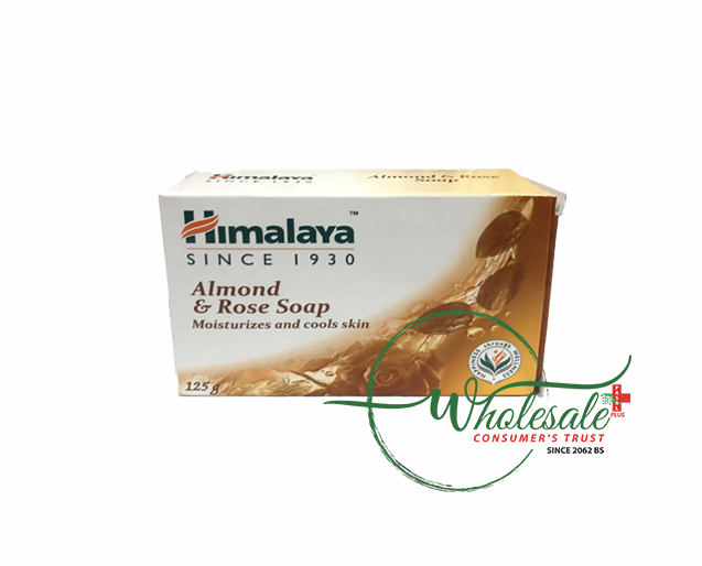 Himalaya Soap Almond and Rose 125g