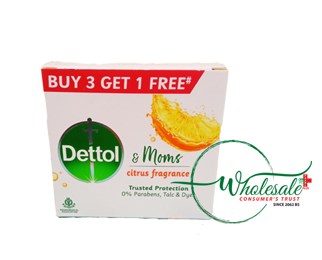 Dettol Soap Citrus Fragrance 75gm*B3G1