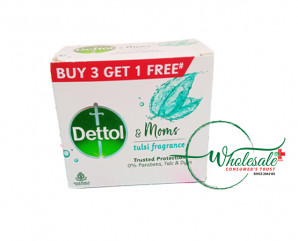 Dettol Soap Tulsi Fragrance 75gm*B3G1