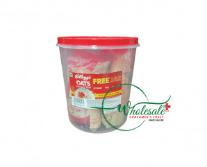 Kelloggs Oats 450g*2 with free jar