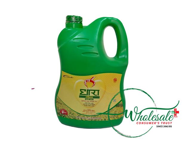 Dhara Mustard Oil 5ltr