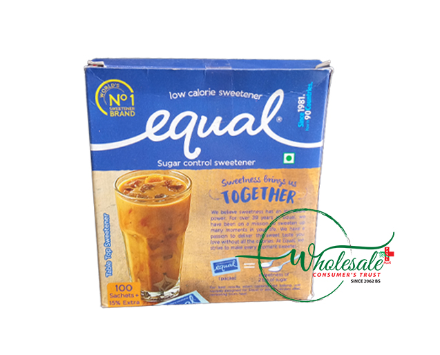 Equal Sugar Control 100 Sachets