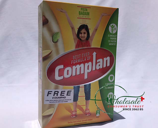 Complan Pista Badam 500 Gm (ref)