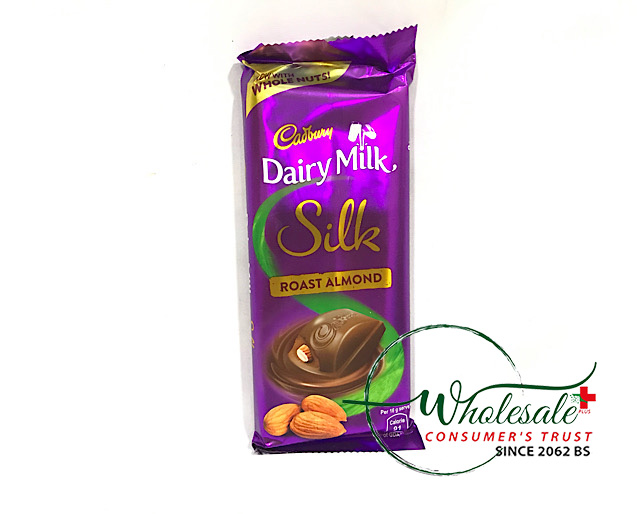 Dairy Milk Silk Roasted Almond 143gm