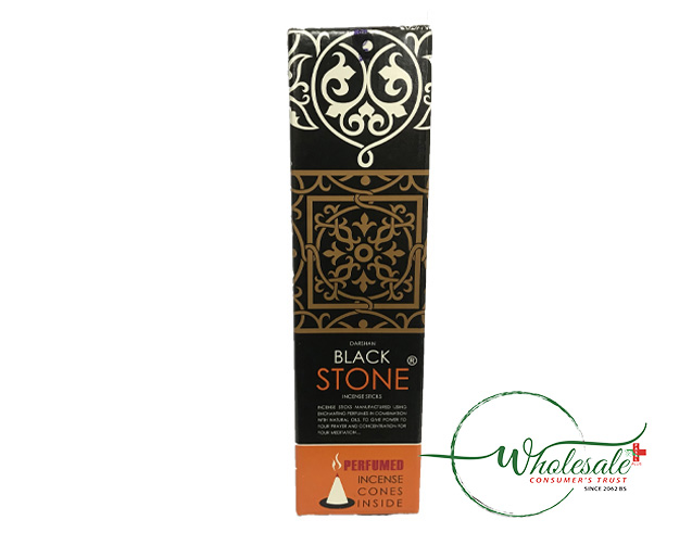 Black Stone Incense Sticks 100g