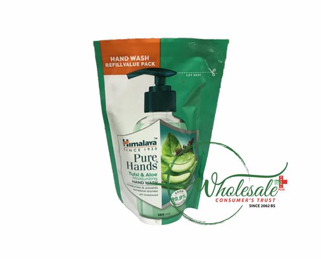 Himalaya Handwash Tulsi & Aleo Refill 185ml