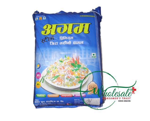 Agam Premium Jeera Rice 25kg