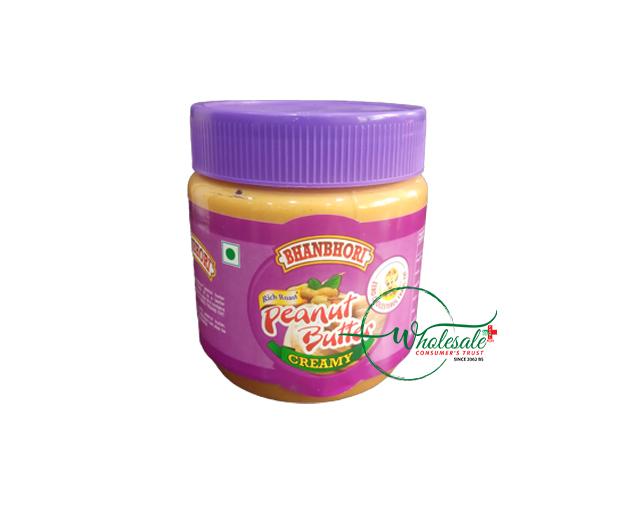 Bhanbhori Peanut Butter (Creamy) 340gm