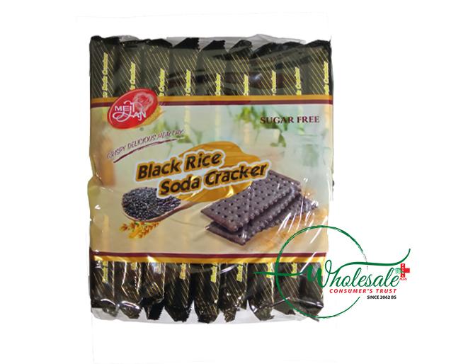 Meidan Black Rice Soda Crackers 25gm*18