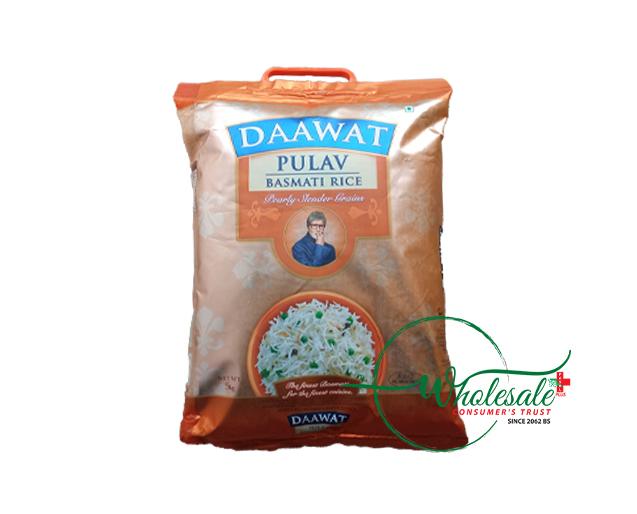 Daawat Pulav Basmati Rice 5kg