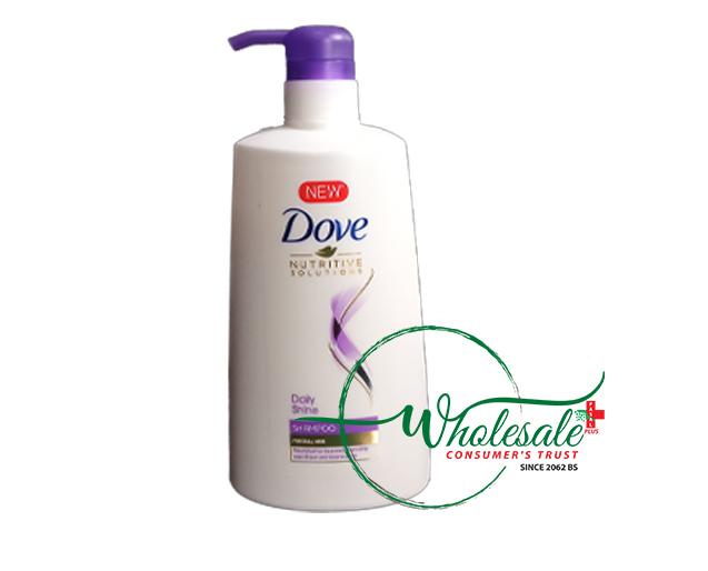 Dove Shampoo Daily Shine 650ml