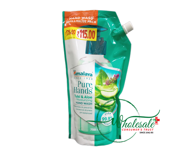 Himalaya Handwash Tulsi & Aloe