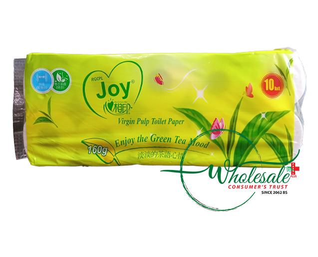 Joy Sented Green Tea Mood Toilet Paper 160gm(1*10p
