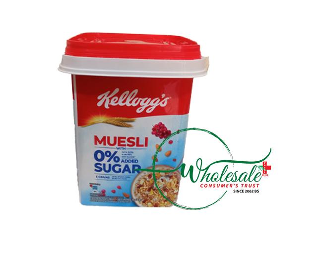 Kelloggs Muesli 1kg 0% added Sugar