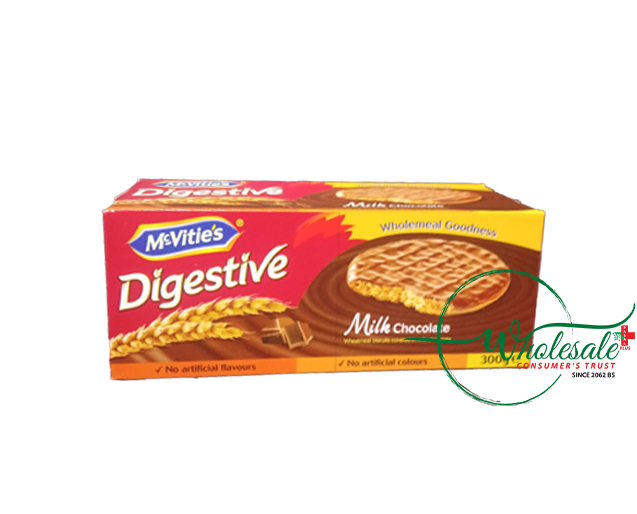 Mcvities Digestive Milk Chocolate 300gm
