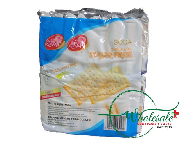 Meidan Soda Crackers Sugar Free