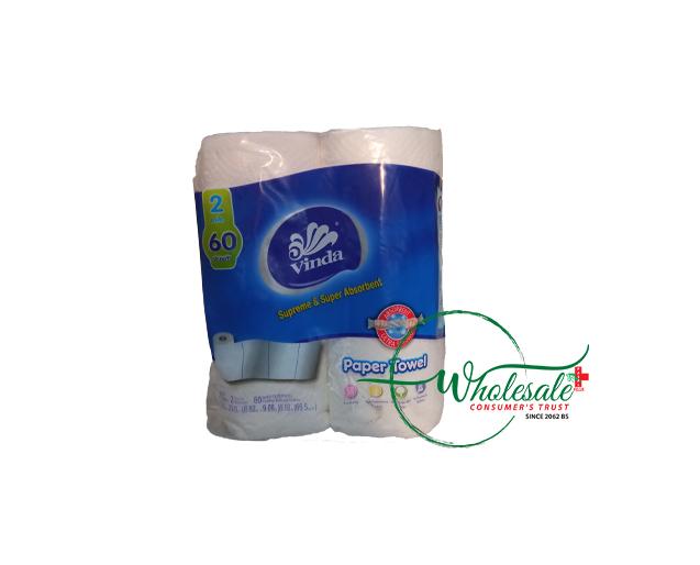 Vinda Paper Towel 2 Roll 60 sheets