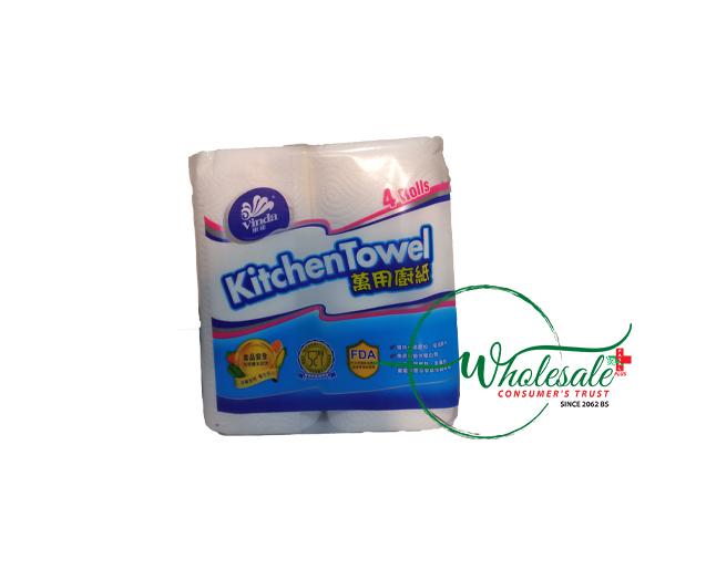 Vinda Kitchen Towel 4 Rolls