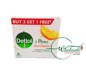 Dettol Soap Citrus Fragrance 75gm*B3G1