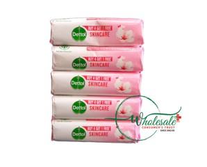 Dettol Soap Skincare (Buy 4 + 1 Free) 625gm